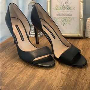 French Connection Classic Peep Toe Heels